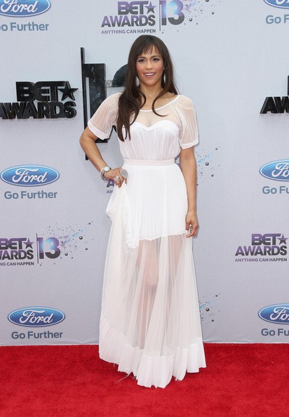 Paula Patton Wore Max Azria at the BET Awards