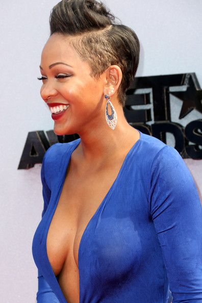 More Pics of Meagan Good Fishtail Dress (2 of 10) - Meagan Good Lookbook - StyleBistro