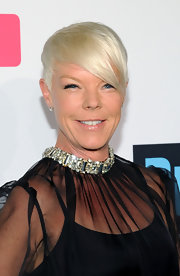 Tabatha Coffey's razored pixie cut was sleek, shiny, and totally fabulous.