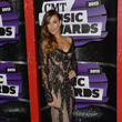 Jana Kramer in Pavoni at the CMT Music Awards