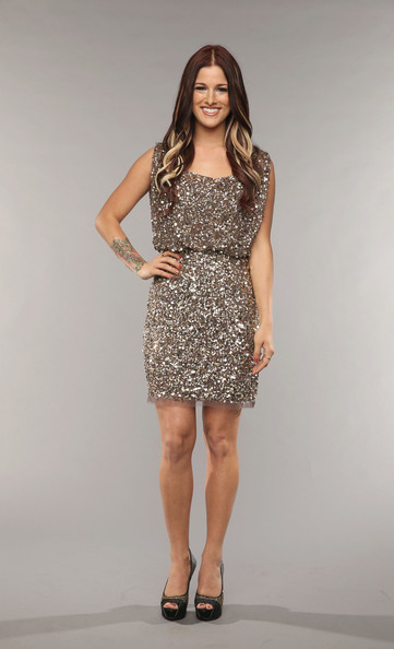 Cassadee Pope's sequined frock gave her a super sparkly and glam look at the CMT Music Awards.