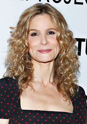 Kyra Sedgwick opted for soft golden curls for the Culture Project Gala in NYC.