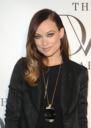 Olivia Wilde's pout looked totally natural and chic with a shiny gloss coating them.