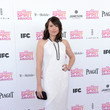 Clea DuVall Wore Pamella Roland at the 2013 Independent Spirit Awards