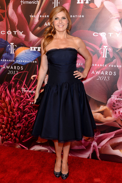 More Pics of Connie Britton Strapless Dress (1 of 4) - Connie Britton Lookbook - StyleBistro