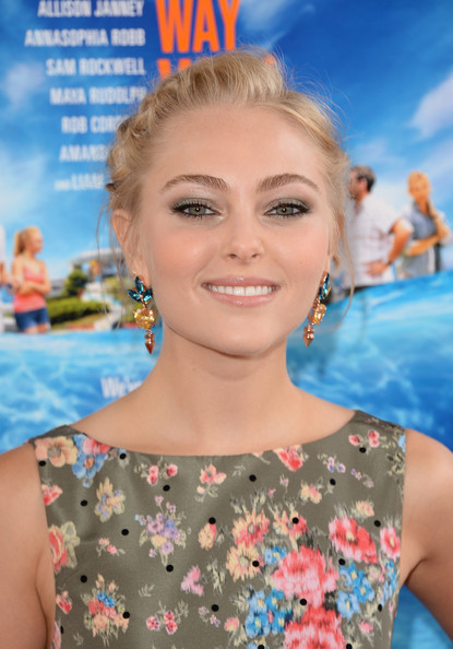 More Pics of AnnaSophia Robb Dangling Gemstone Earrings (3 of 41) - AnnaSophia Robb Lookbook - StyleBistro