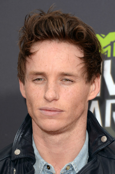 More Pics of Eddie Redmayne Leather Jacket (1 of 9) - Eddie Redmayne Lookbook - StyleBistro