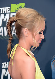 Kelley Jakle's high braid was simply stunning on the MTV Movie Awards red carpet.