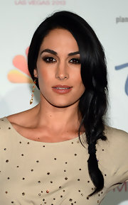 Brie Bella opted for a super pretty loose braid for the Miss USA Pageant.