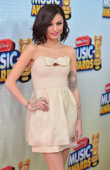More Pics of Cher Lloyd Short Wavy Cut (2 of 17) - Short Hairstyles Lookbook - StyleBistro