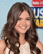 Maia Mitchell rocked loose waves at the Radio Disney Music Awards.