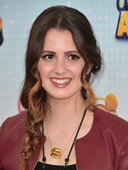 A loose wavy braid gave Laura Marano's auburn hair some texture on the red carpet.