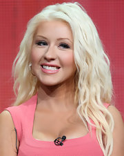 Christina Aguilera looked like she stepped into a time machine when she sported crimped waves that reminded us of her first breakout performance!