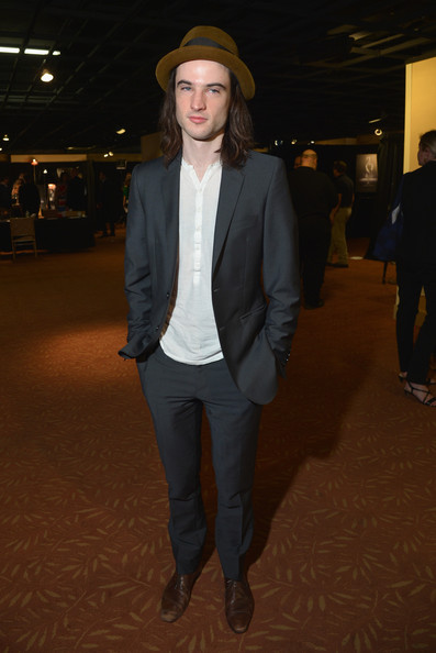 55e40db66bf More Pics of Tom Sturridge Porkpie Hat (1 of 9) - Dress Hats Lookbook -  StyleBistro