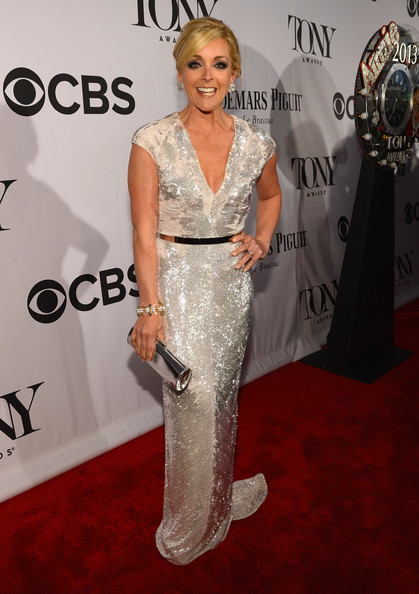 More Pics of Jane Krakowski Beaded Dress (1 of 3) - Jane Krakowski Lookbook - StyleBistro