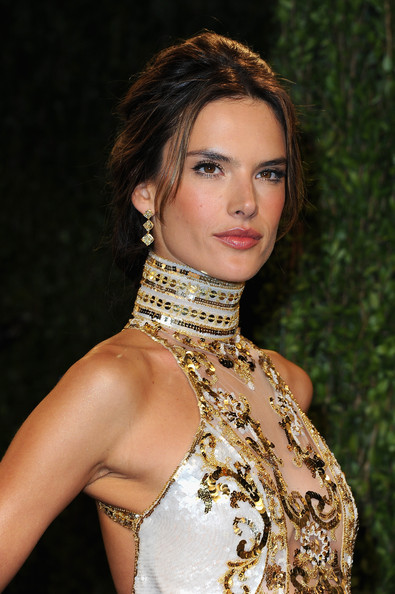 More Pics of Alessandra Ambrosio Beaded Dress (1 of 9) - Beaded Dress Lookbook - StyleBistro