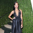 Zoe Saldana Wore Givenchy at the Vanity Fair Oscars Party 2013