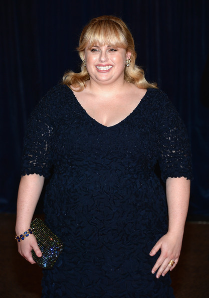 More Pics of Rebel Wilson Half Up Half Down (1 of 12) - Rebel Wilson Lookbook - StyleBistro