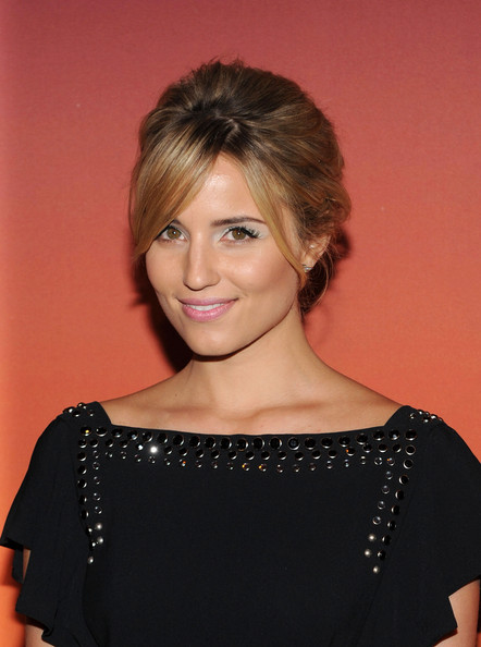 More Pics of Dianna Agron Bobby Pinned Updo (5 of 10) - Dianna Agron Lookbook - StyleBistro