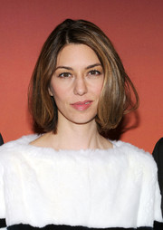 Sofia Coppola wore her hair in a classic bob at the Whitney Gala and Studio Party.