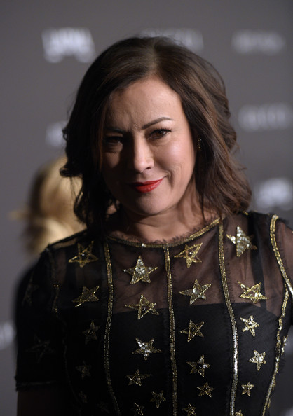 Jennifer Tilly styled her hair with gentle waves for the LACMA Art + Film Gala.