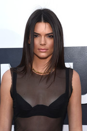 Kendall Jenner opted for a sleek and trendy layered cut when she attended the MTV VMAs.