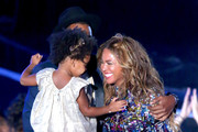 Blue Ivy Carter and Beyonce Knowles Photo