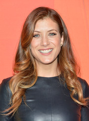 Kate Walsh sported a youthful side-parted wavy 'do at the NBC Upfront Presentation.