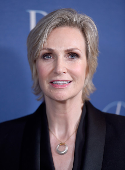 More Pics of Jane Lynch Short Side Part (1 of 6) - Jane Lynch Lookbook - StyleBistro [hair,face,hairstyle,blond,chin,eyebrow,white-collar worker,official,forehead,lip,arrivals,jane lynch,beverly hills,california,beverly wilshire four seasons hotel,princess grace awards,christian dior couture,princess grace awards gala]