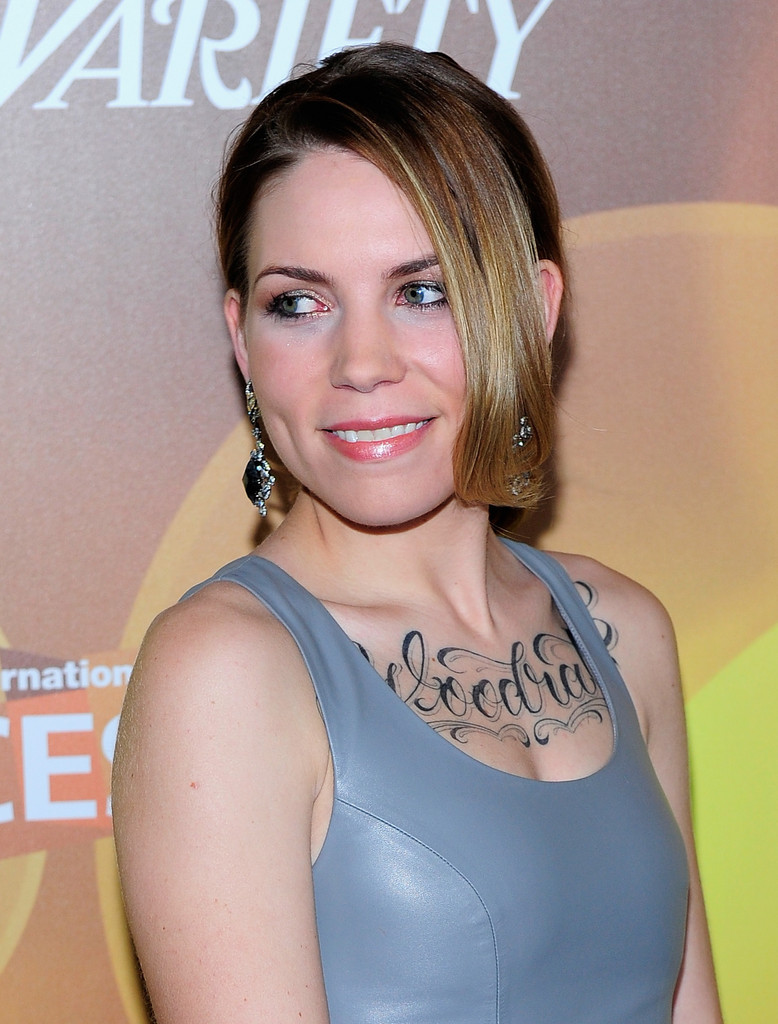 More Pics Of Skylar Grey Leather Dress 5 Of 14 Leather