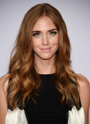 Chiara Ferragni was gorgeously coiffed with boho-glam center-parted waves at the CFDA Fashion Awards.