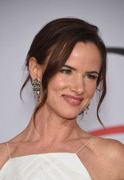 Juliette Lewis wore a romantic loose updo during the CFDA Fashion Awards.