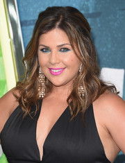 Hillary Scott attended the CMT Music Awards wearing a wavy half-up 'do.