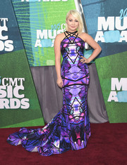 RaeLynn wore a bold and beautiful Gabriela Cadena gown to the CMT Music Awards.