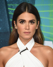 Nikki Reed looked lovely even with this simple center-parted hairstyle at the CMT Music Awards.