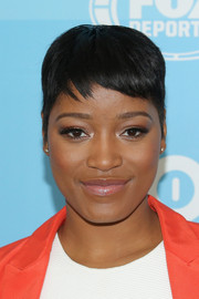 Keke Palmer looked ready for summer with her cool pixie during the Fox Programming Presentation.