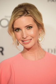 Ivanka Trump swept her hair back into an elegant chignon for the Glamour Women of the Year Awards.