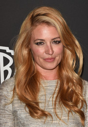 Cat Deeley attended the InStyle and Warner Bros. Golden Globes party wearing the most perfect waves!