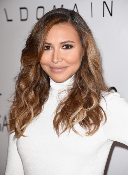 Naya Rivera wore her hair in beach-chic waves during the March of Dimes Celebration of Babies.