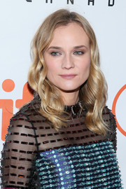Diane Kruger attended the TIFF premiere of 'Disorder' sporting her usual mid-length waves.