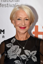 Helen Mirren wore a platinum-blonde bob at the TIFF premiere of 'Eye in the Sky.'