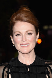 Julianne Moore went for classic styling with this loose bun at the TIFF premiere of 'Maggie's Plan.'
