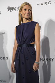 Gwyneth Paltrow attended the amfAR Hong Kong Gala wearing a beautiful diamond bracelet by Harry Winston.
