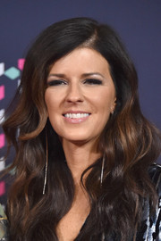 Karen Fairchild looked lovely with her voluminous waves at the 2016 CMT Music Awards.