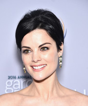 Jaimie Alexander attended the 2016 Garden Brunch wearing her hair in a muted beehive.