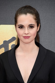 Vanessa Marano opted for a simple ponytail when she attended the MTV Movie Awards.