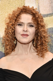Bernadette Peters sported her unchanging curly style at the 2016 New York City Center Gala.
