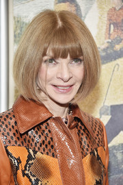Anna Wintour attended the 2016 New York City Center Gala wearing her iconic bob.