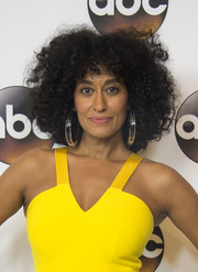 Tracee Ellis Ross looked chic with her fluffy afro at the Disney ABC Summer TCA Tour.