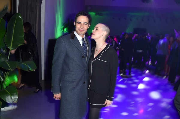 More Pics of Rose McGowan Short Shorts (1 of 4) - Rose McGowan Lookbook - StyleBistro [green,event,fashion,suit,party,formal wear,ceremony,performance,night,zac posen,rose mcgowan,new york city,spring studios,tribeca film festival opening night party]